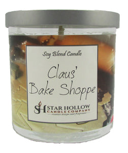 Small Silver Lid Jar Claus Bake Shoppe