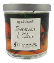 Small Silver Lid Jar Evergreen & Citrus