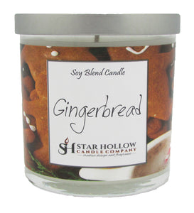Small Silver Lid Jar Gingerbread