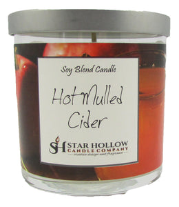 Small Silver Lid Jar Hot Mulled Cider