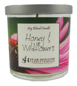 Small Silver Lid Jar Honey & Wildflowers