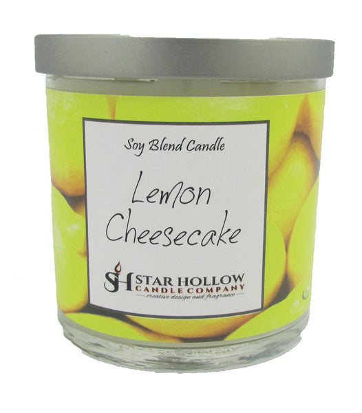 Small Silver Lid Jar Lemon Cheesecake