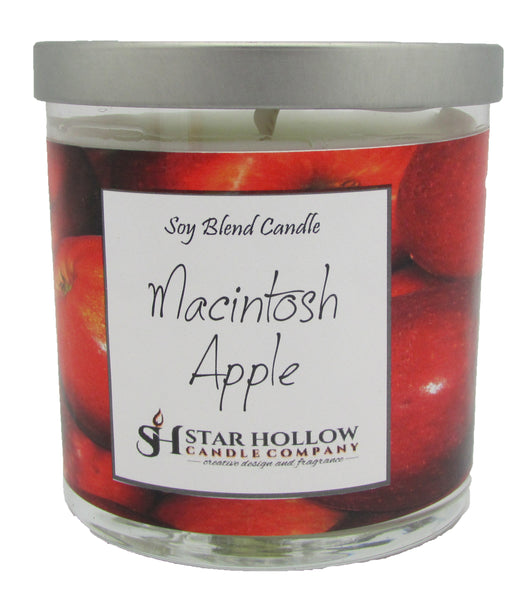 Small Silver Lid Jar Macintosh Apple