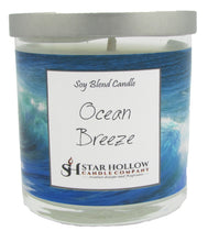 Small Silver Lid Jar Ocean Breeze