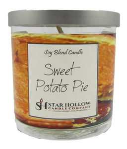 Small Silver Lid Jar Sweet Potato Pie