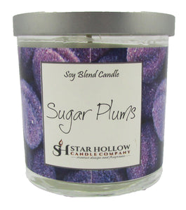 Small Silver Lid Jar Sugar Plums
