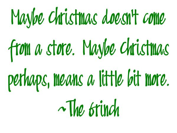 Quote Jar Maybe Grinch Cranberry