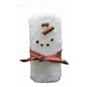 Tall Fatty Snowman White