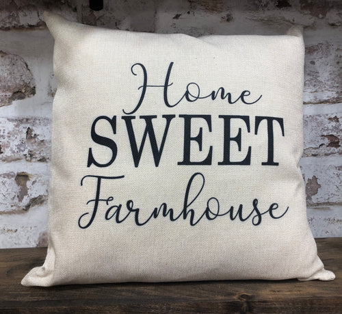 Home Sweet Farmhouse Pillow
