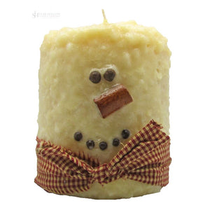 Large Hearth Fatty Snowman Cream