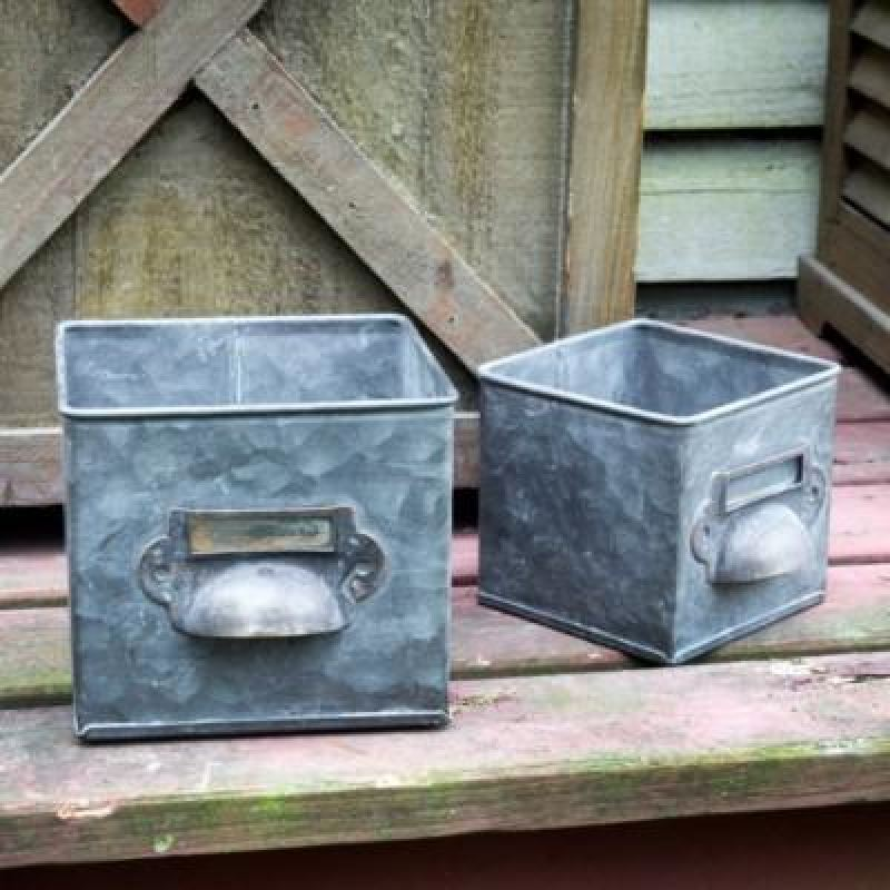 Metal Bin Drawer Boxes