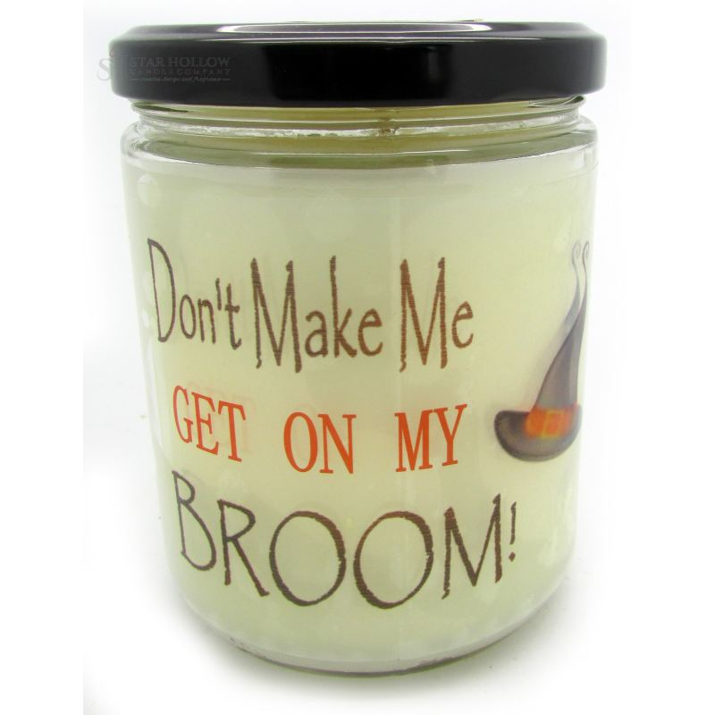 Quote Jar Broom Candy Corn
