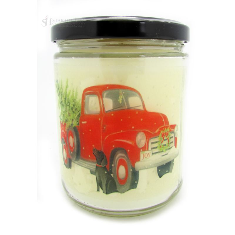Quote Jar Red Truck Cranberry
