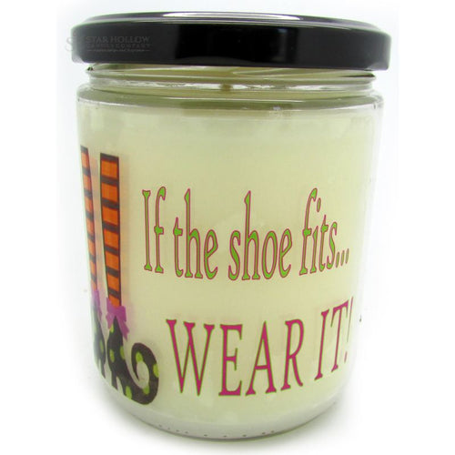 Quote Jar Shoe Fits Candy Corn