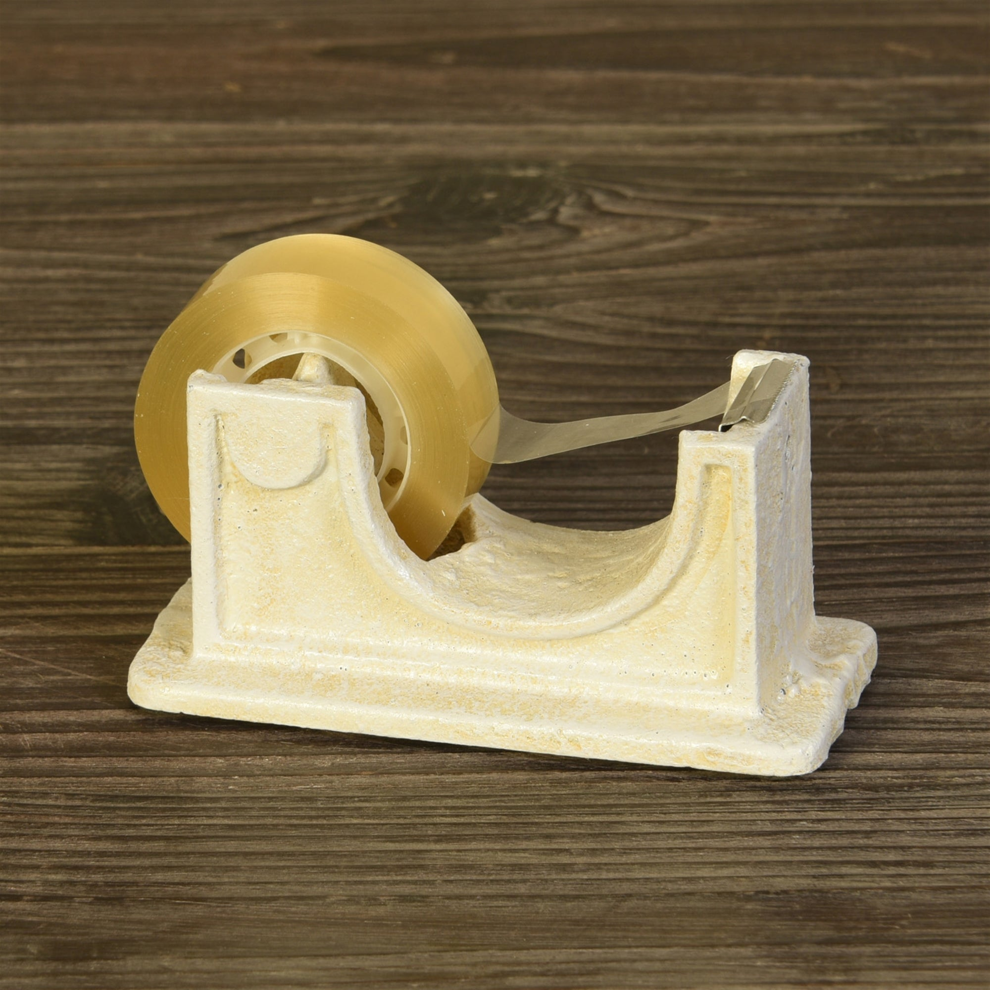 Cast iron tape dispenser