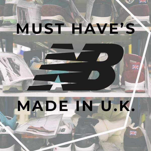 MUST HAVE NEW BALANCE MADE IN UK