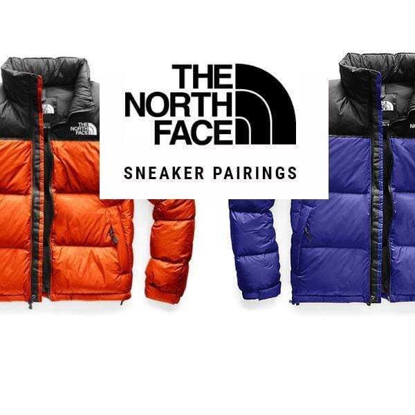 1996 North Face Nuptse Sneaker Pairings