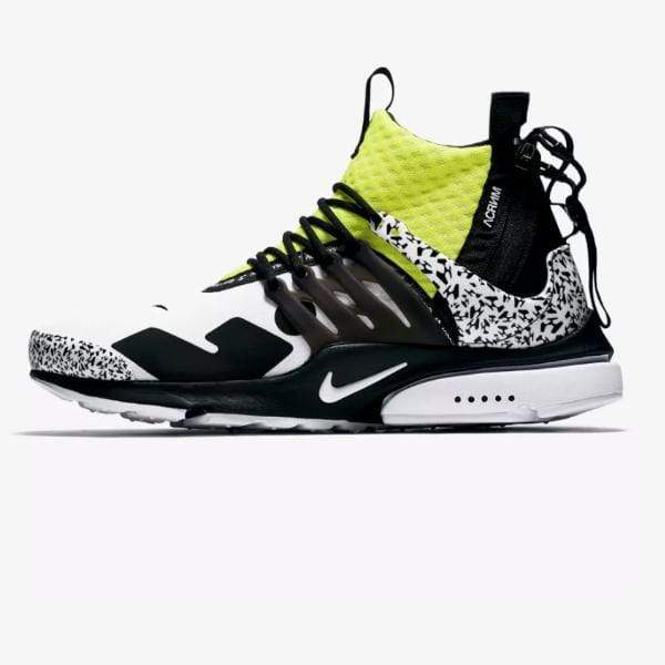 Nike Presto Mid x Acronym 'White / Dynamic Yellow'