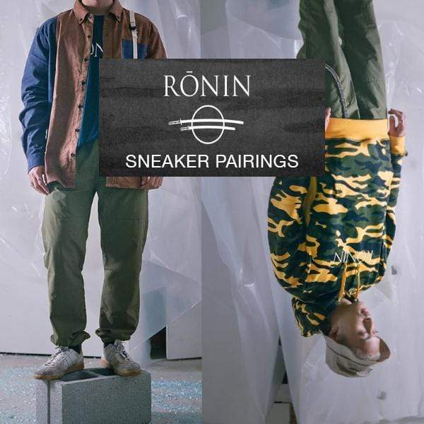 Ronin AW18 Lookbook Sneaker Pairings