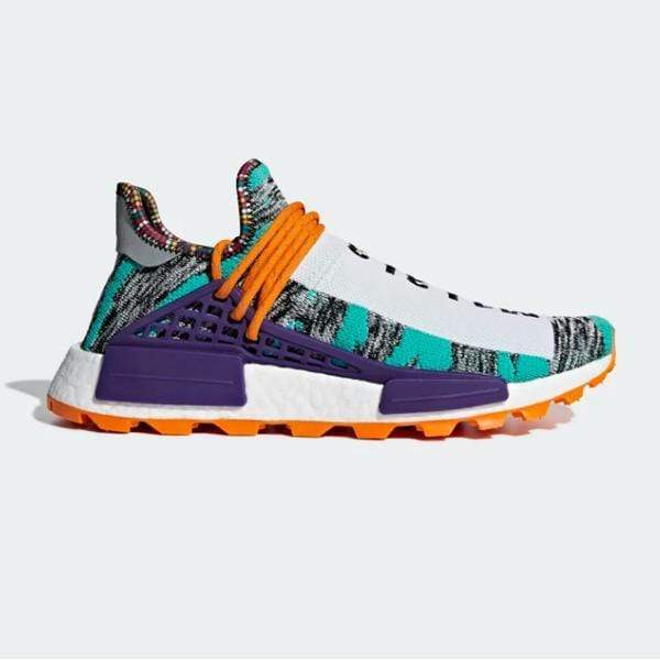 Pharrell Williams X adidas Solarhu NMD Afro 'Hi-Res Aqua'