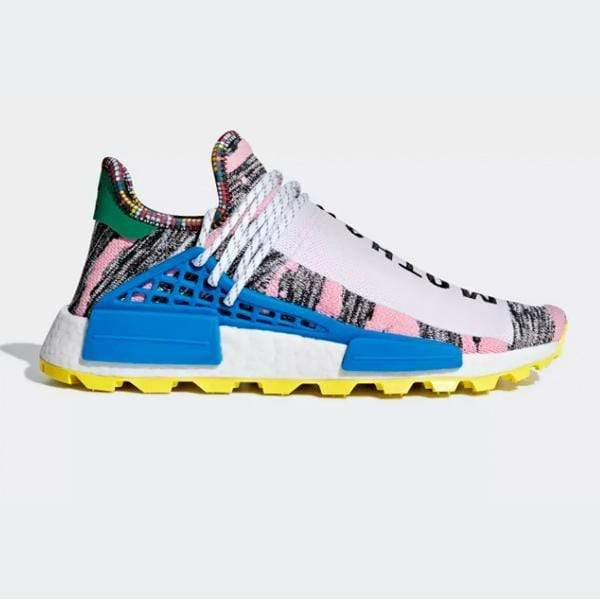 Pharrell Williams X adidas Solarhu NMD Afro 'Red / Bright Blue'