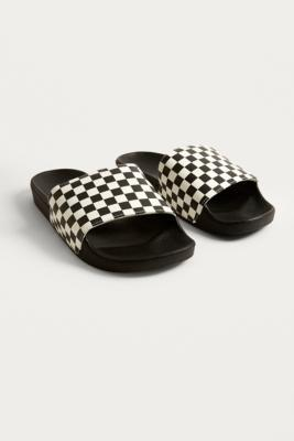Vans Vans Checkerboard Pool Sliders - Mens UK 8 SOLEHEAVEN