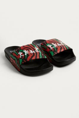 Buy Vans Vans X A Tribe Called Quest Pool Sliders - Mens UK 9 Urban Outfitters EU online now at Soleheaven Curated Collections