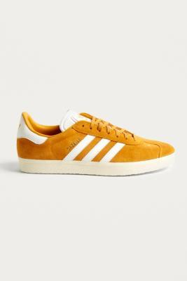 Buy Adidas adidas Gazelle Gold Suede Trainers - Mens UK 9 Urban Outfitters EU online now at Soleheaven Curated Collections