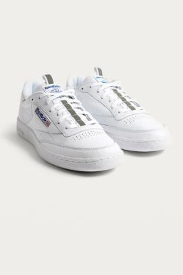 Buy Reebok Reebok Club C 85 RT White Trainers - Mens UK 9 Urban Outfitters EU online now at Soleheaven Curated Collections