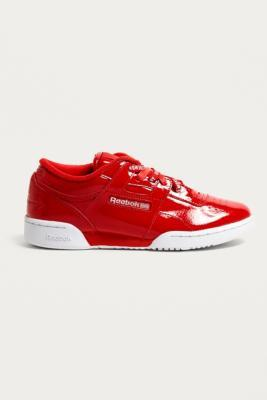 Buy Reebok Reebok X Opening Ceremony OC Red Workout Lo Clean Trainers - Mens UK 9 Urban Outfitters EU online now at Soleheaven Curated Collections