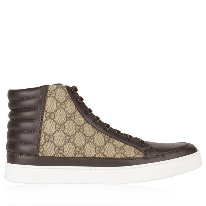 Gucci GUCCI Common High Gg Trainers SOLEHEAVEN