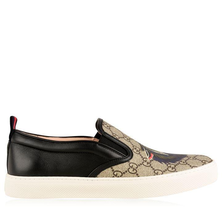 Gucci GUCCI Dublin Wolf Slip On Trainers at Soleheaven Curated ... 34c27d4f334b