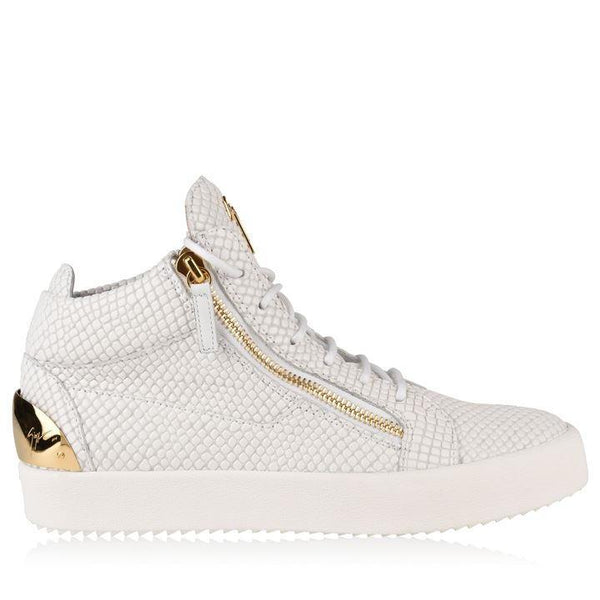 Buy giuseppe zanotti GIUSEPPE ZANOTTI May London Snake Mid Top Trainers Flannels online now at Soleheaven Curated Collections