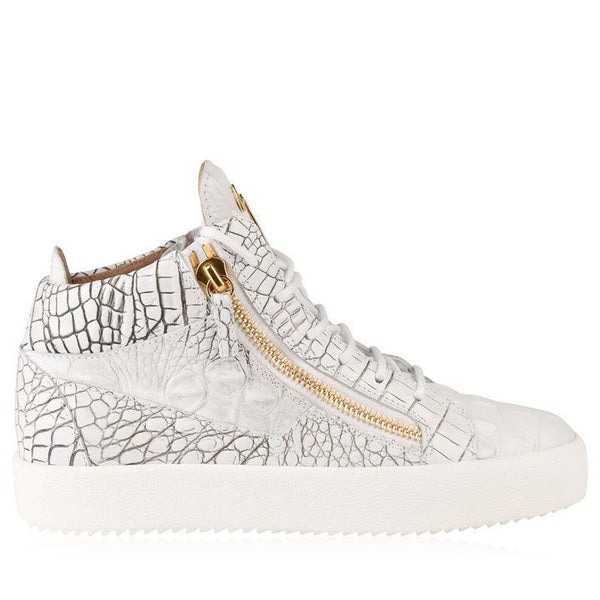 GIUSEPPE ZANOTTI May London Croc High Top Trainers
