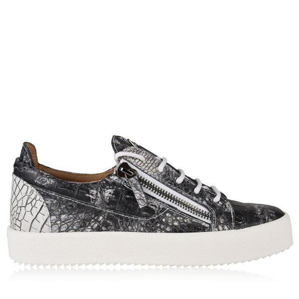 GIUSEPPE ZANOTTI May London Crocodile Trainers