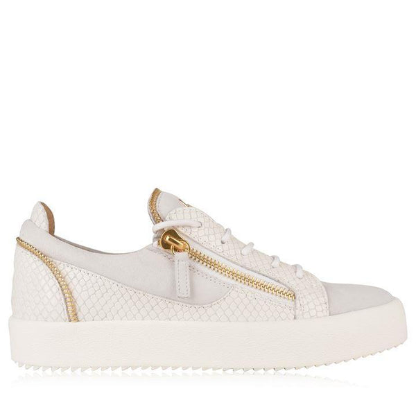 GIUSEPPE ZANOTTI May Zip Low Top Trainers