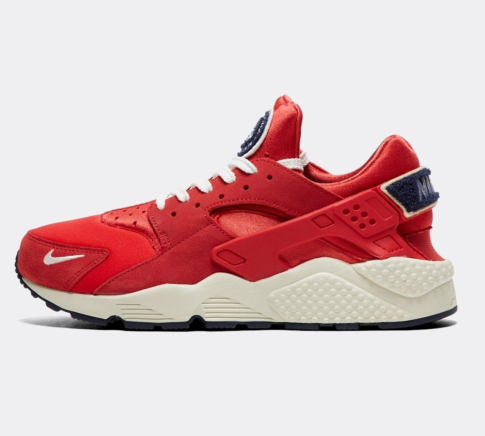 220ada655 ... purchase buy nike nike huarache run premium trainer university red sail  footasylum online now at 87609