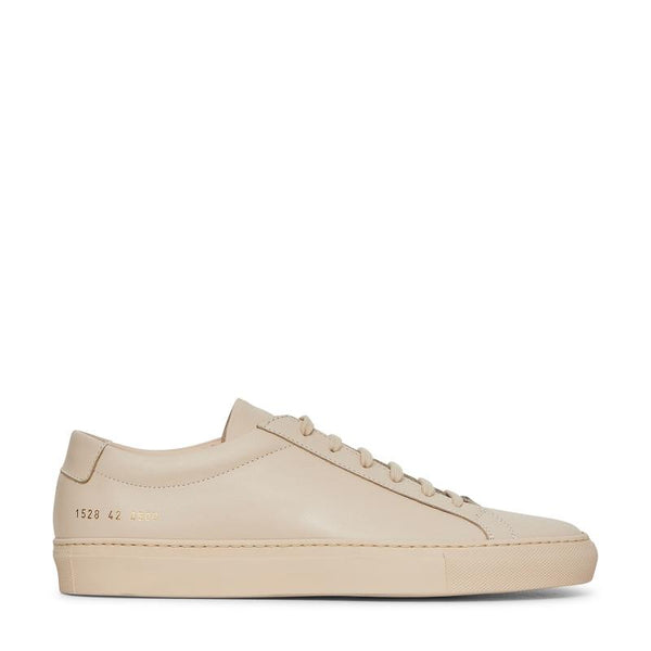 73a0a49adf512 Common Projects Common Projects Original Achilles Low Sneakers NUDE  SOLEHEAVEN