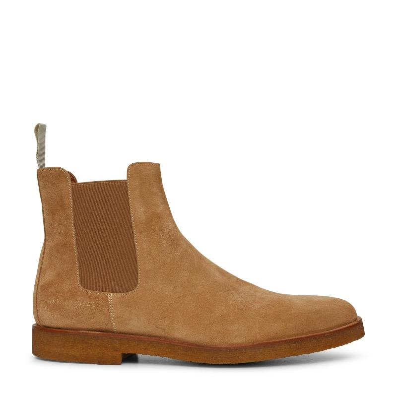 Common Projects Common Projects Suede Chelsea Boots SOLEHEAVEN