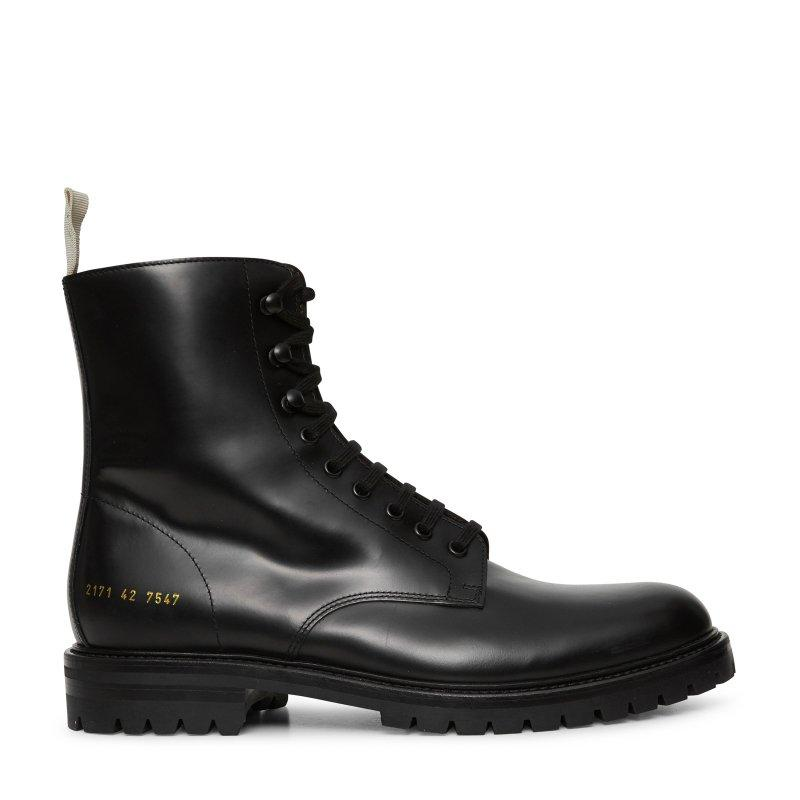 Common Projects Common Projects Combat Boots SOLEHEAVEN
