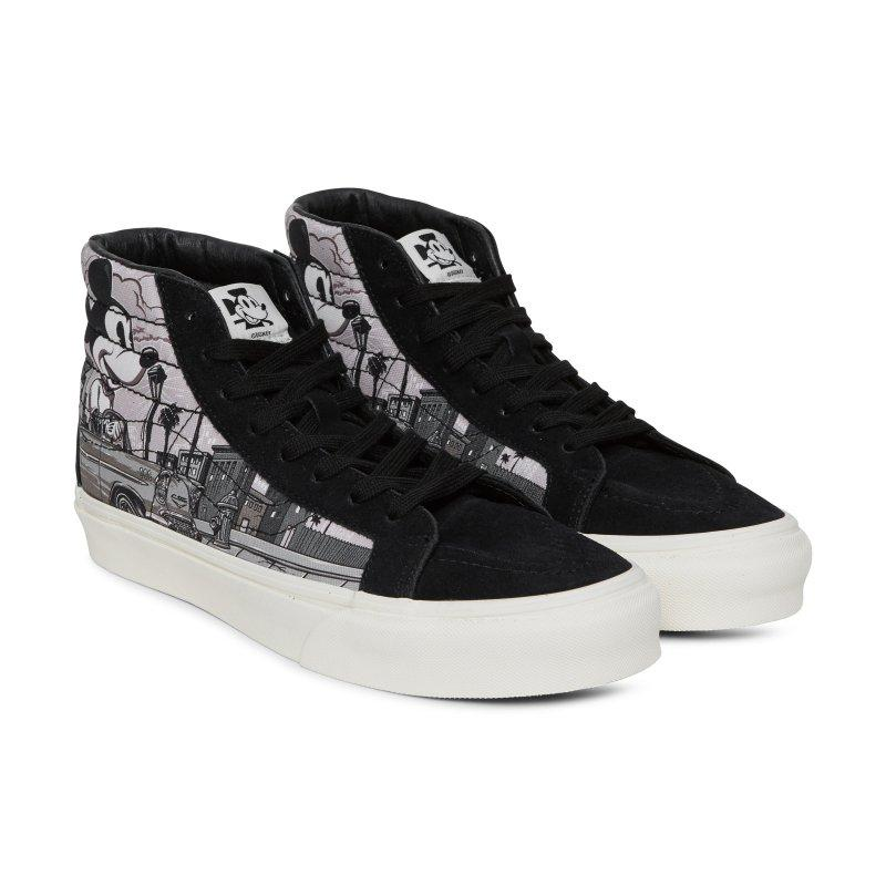 Vans Vans Disney x Mr. Cartoon Sk8-Hi LX Sneakers at Soleheaven ... 184b916b64