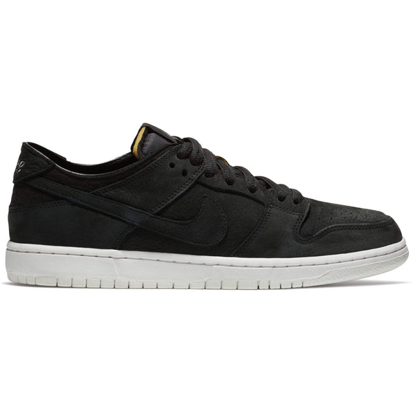 Nike SB Zoom Dunk Low Decon Skate Shoes - Black/Black