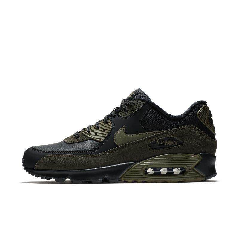 Nike Air Max 90 Leather Men's Shoe - Black