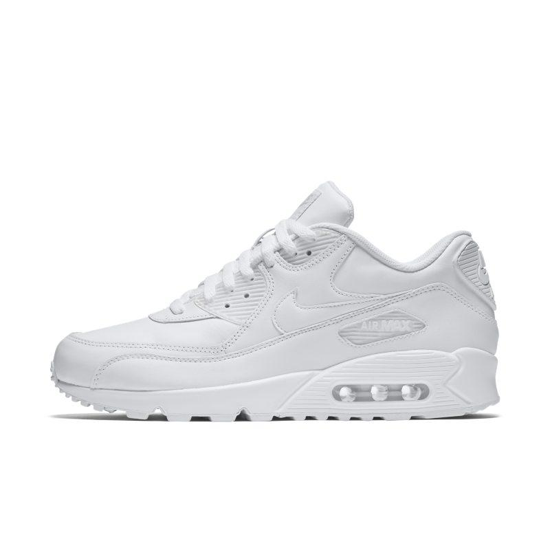 Nike Nike Air Max 90 Leather Men's Shoe - White SOLEHEAVEN