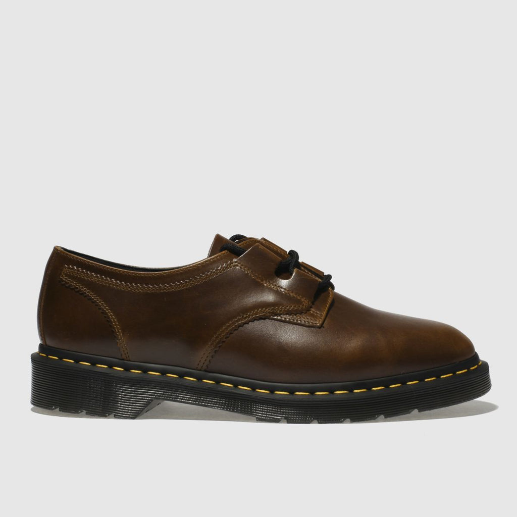 Dr Martens Brown 1461 Ghillie Aqua Glide Shoes