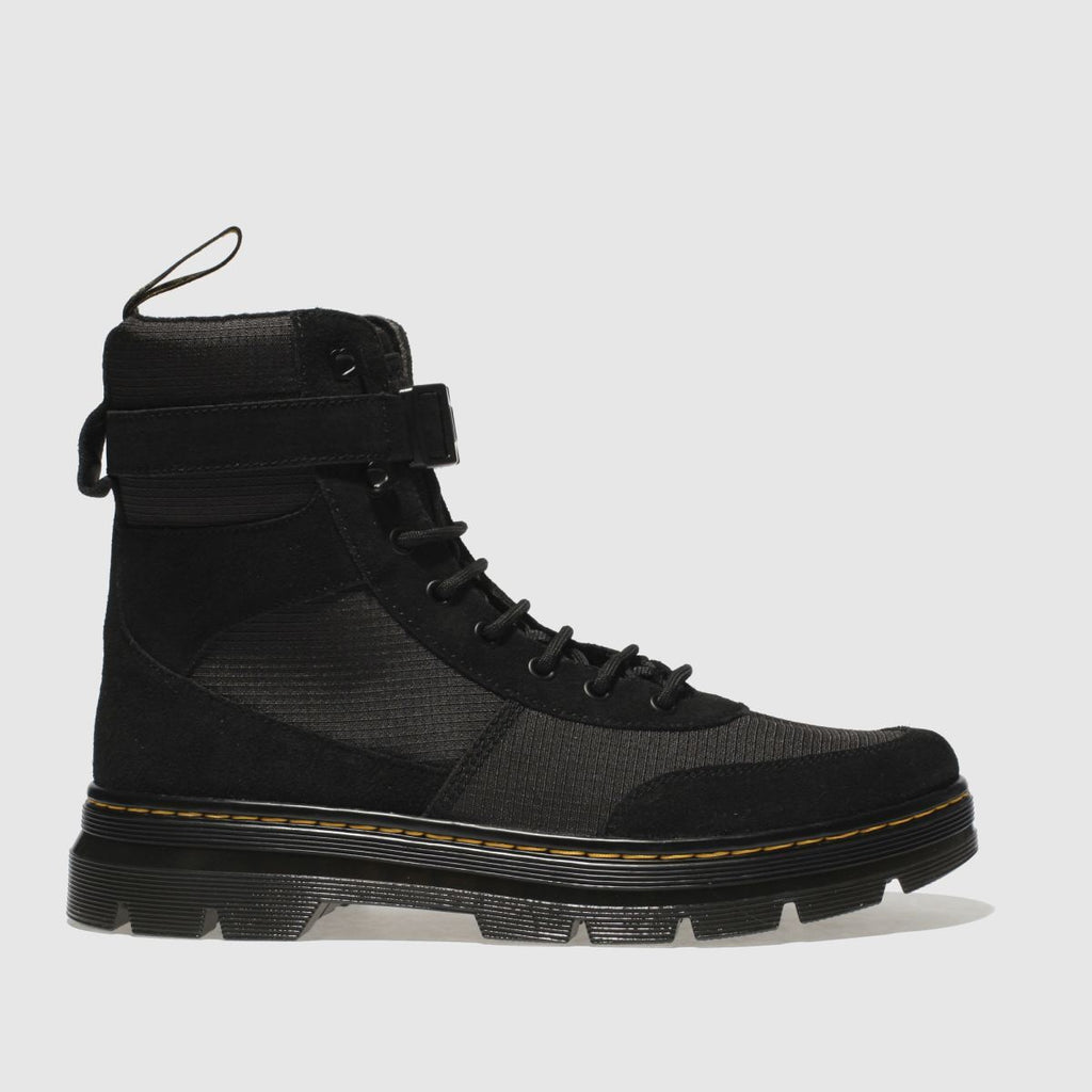 Dr Martens Black Combs Tech Boots