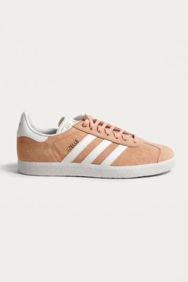 Buy Adidas adidas Gazelle Neutral Suede Trainers - Mens UK 10.5 Urban Outfitters EU online now at Soleheaven Curated Collections