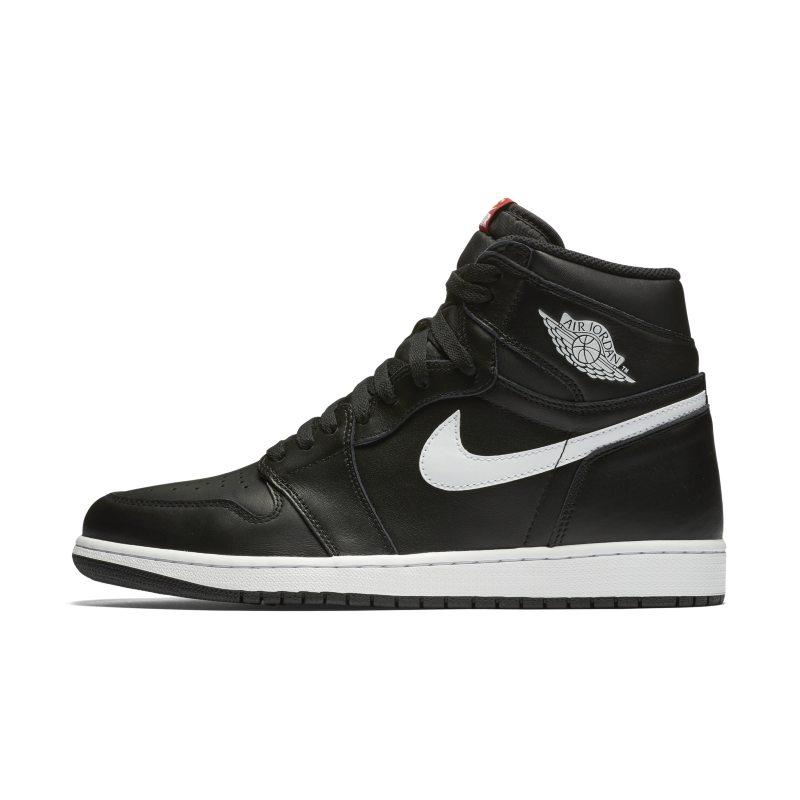 Nike Air Jordan 1 Retro High OG Shoe - Black SOLEHEAVEN
