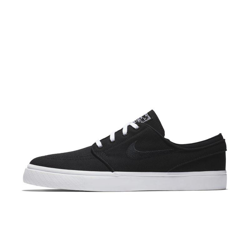 NIKE Nike SB Zoom Stefan Janoski Canvas Men's Skateboarding Shoe - Black SOLEHEAVEN