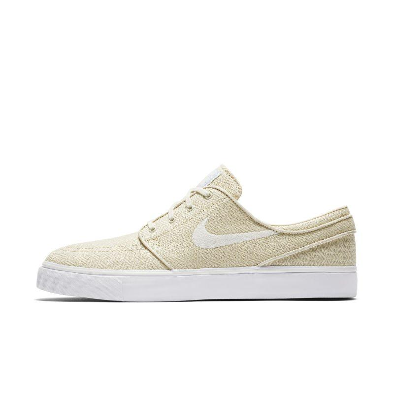 NIKE Nike SB Zoom Stefan Janoski Canvas Men's Skateboarding Shoe - Cream SOLEHEAVEN
